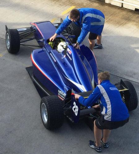 pilot one racing | kaylen frederick | race car team