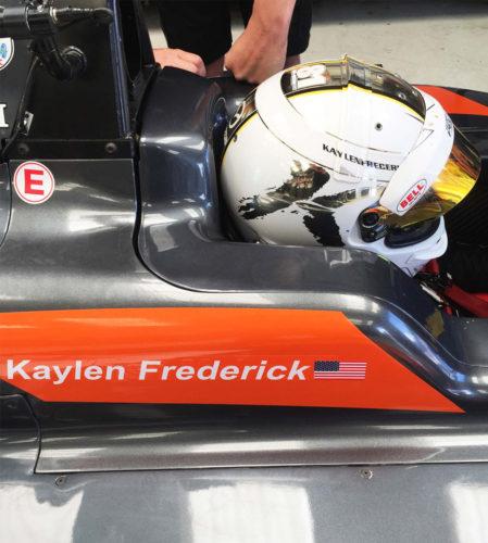 pilot one racing | kaylen frederick | helmet
