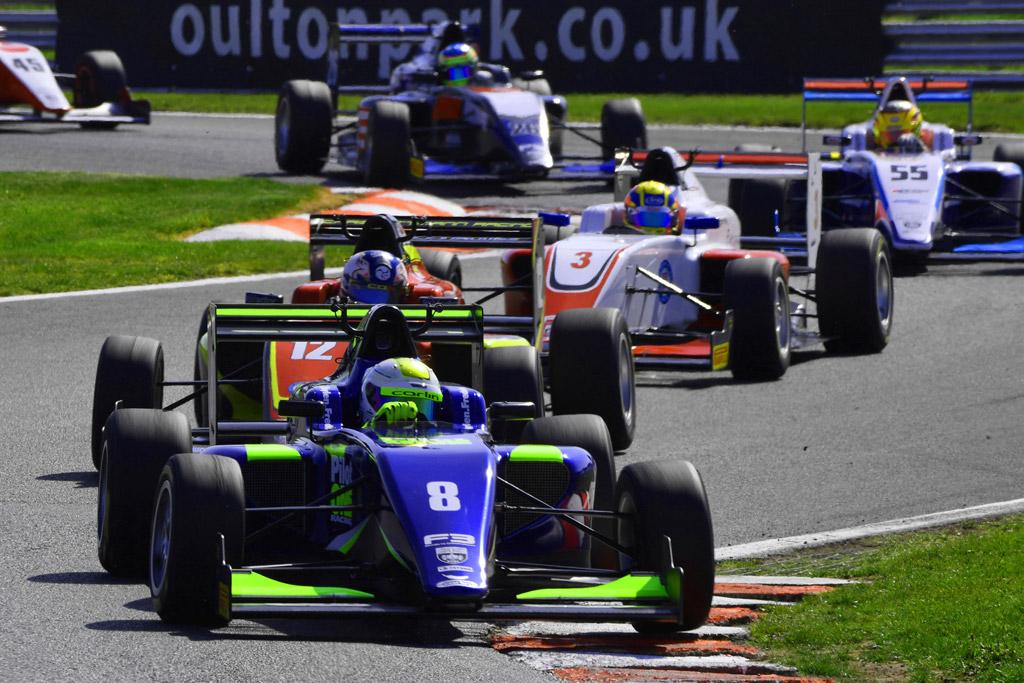 pilot one racing   kaylen frederick   race cars racing road course