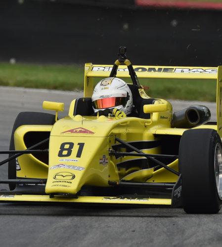pilot one racing | kaylen frederick | race car