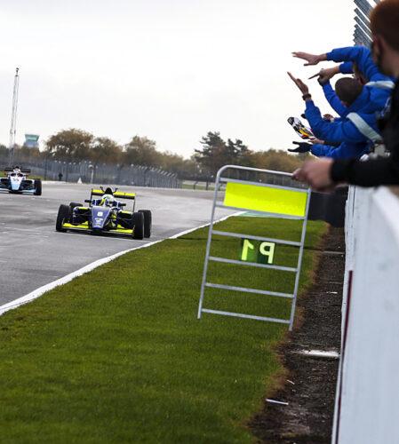 pilot one racing | kaylen frederick | double win