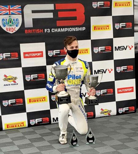 pilot one racing | kaylen frederick | trophies