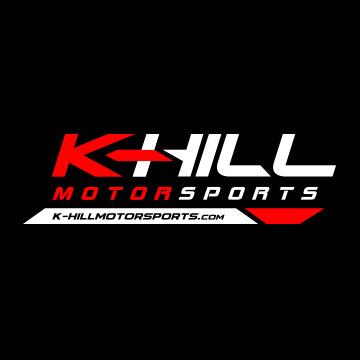 pilot one racing   kaylen frederick   khill motorsports logo