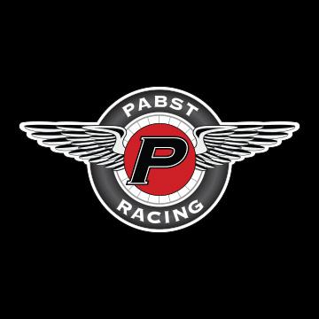 pilot one racing   kaylen frederick   pabst racing logo